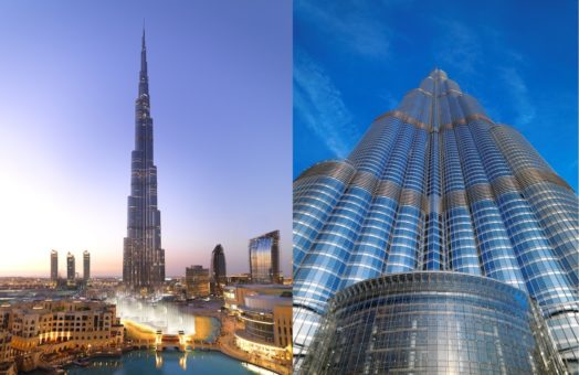 Visite du Burj Khalifa à Dubai