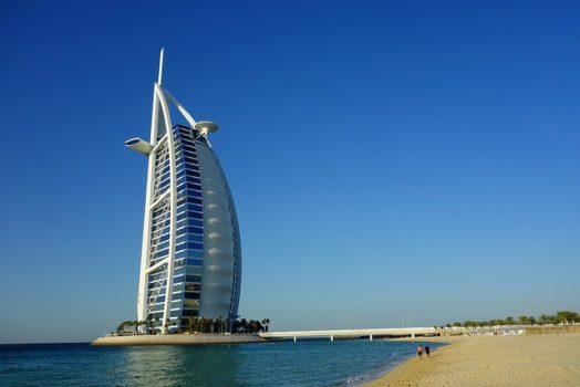 Visite du Burj al arab à Dubai