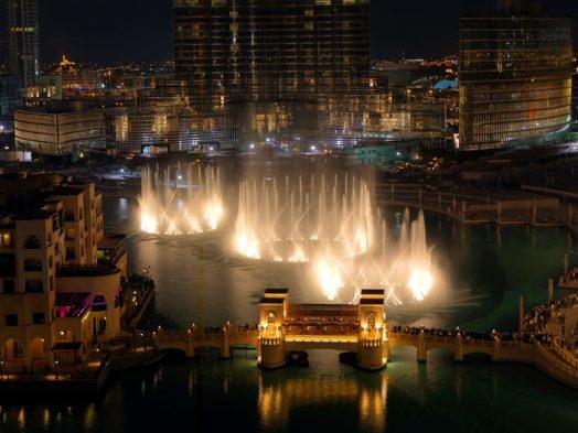 Voir les Fontaines de Dubai