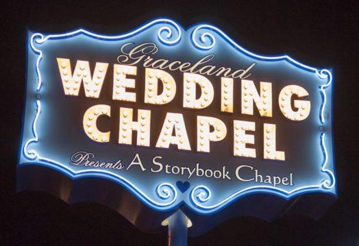 Mariage à Las Vegas, à la chapelle de Graceland