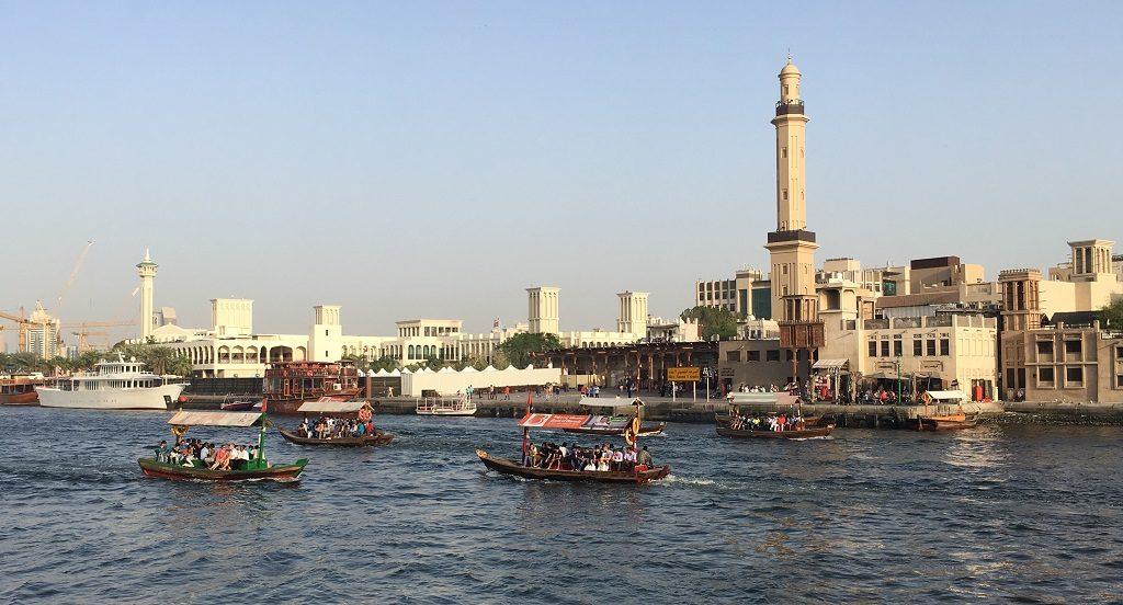 Abras dans le Vieux Dubai