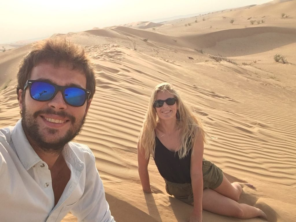 Balade dans le désert de Dubai