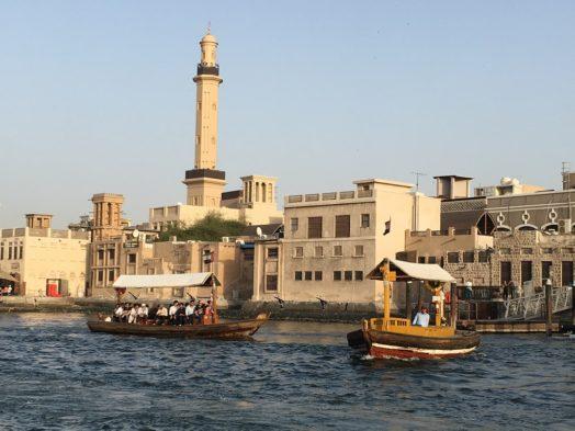 Croisières en abra dans le Vieux Dubai