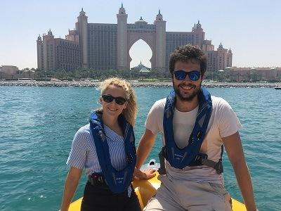 Croisiere en zodiac à Dubai - Atlantis & Top 10