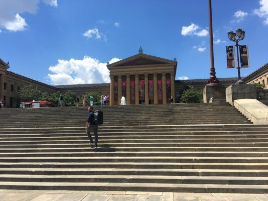Rocky Steps, l'une des attractions de Philadelphie