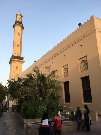 Mosquée dans le Vieux Dubai