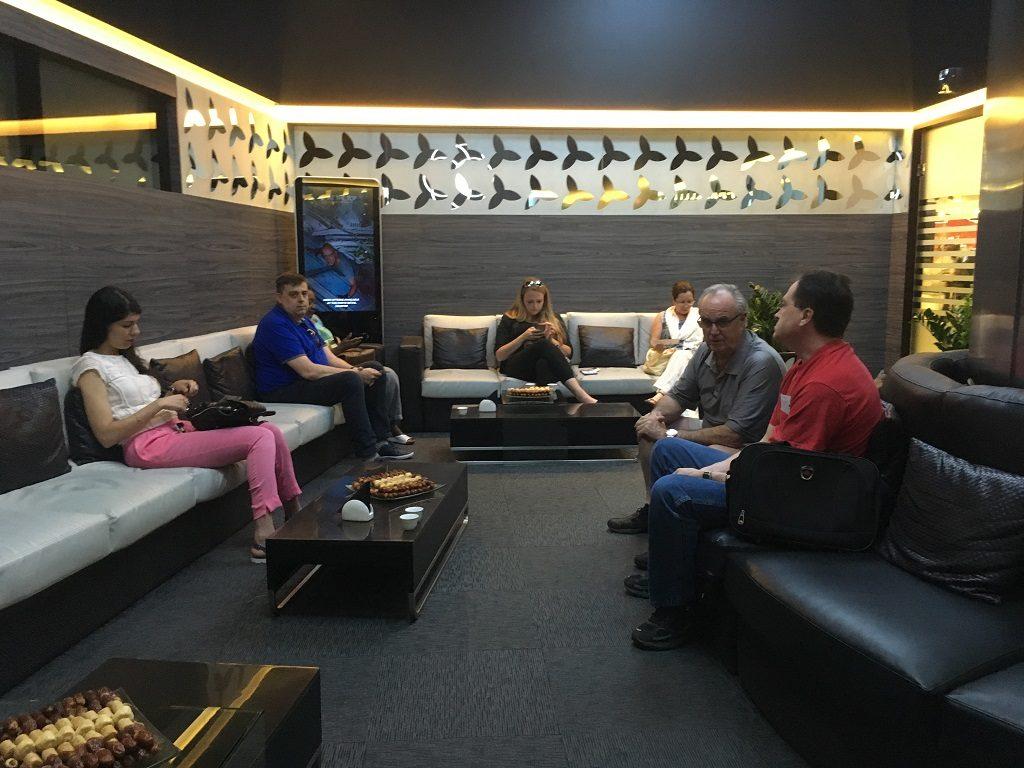 Salon D'attente - Visite Burj Khalifa