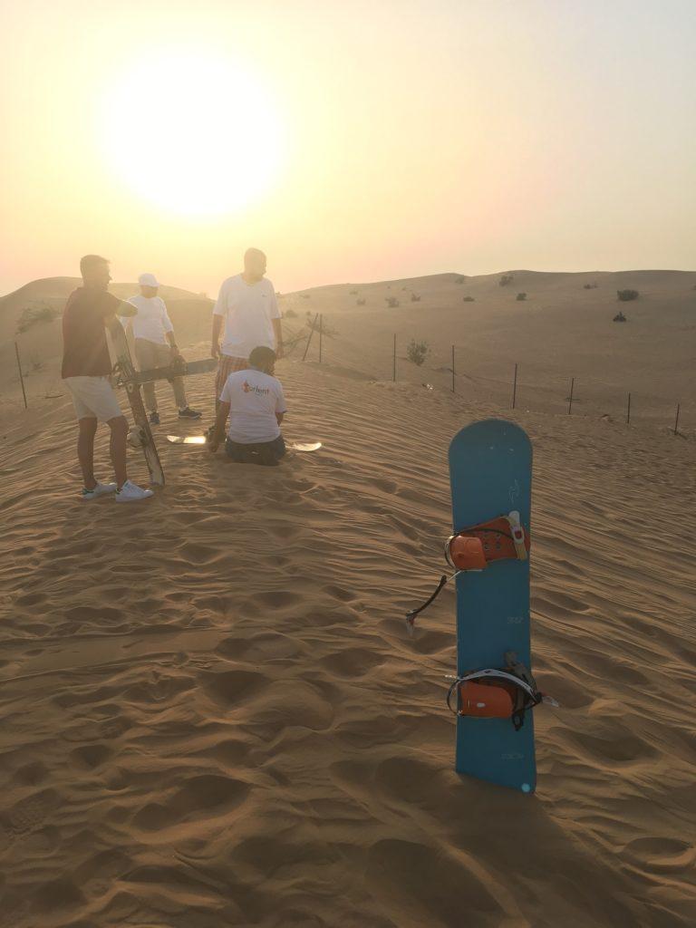 Safari et Sandboarding à Dubai