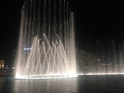 Spectacle des Dubai Fountain - Top 10