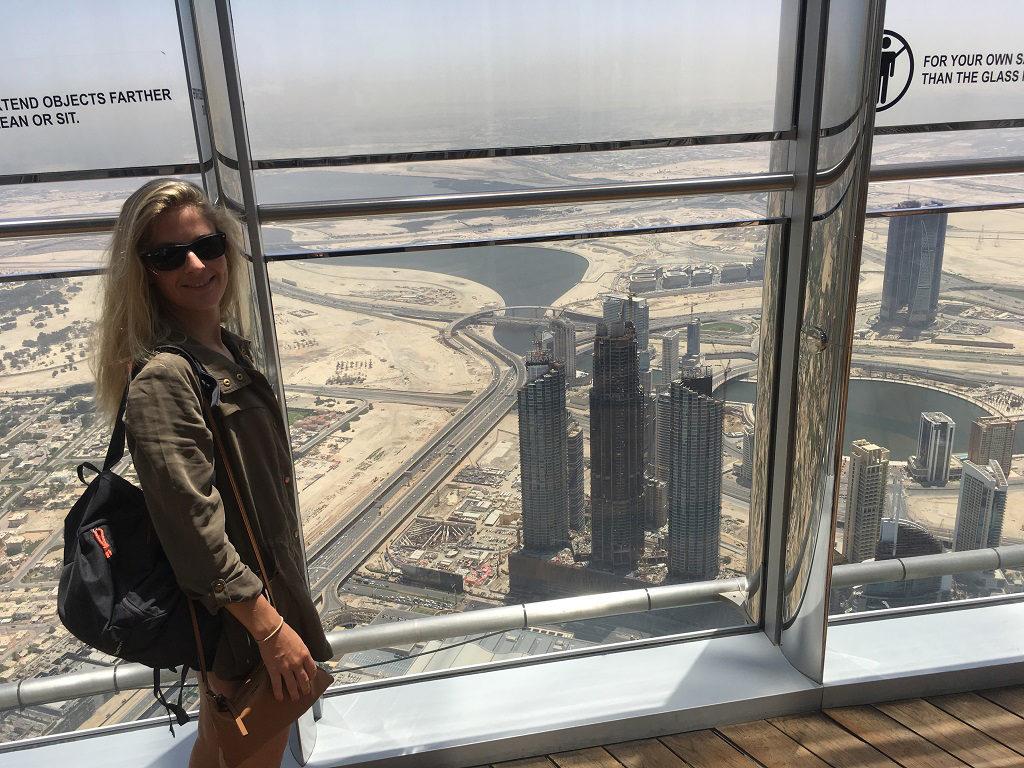 Terrasse du Burj Khalifa - 148e étage