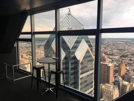 Visite de la One Liberty tower à Philadelphie