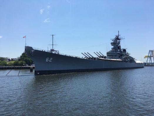 Visite de l'USS New Jersey - Philadelphie