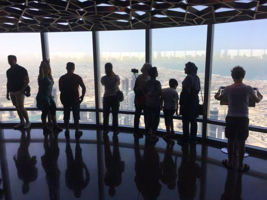 Visiter le Burj Khalifa - 124e étage