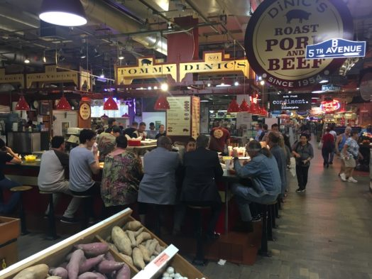 Visite du Reading Terminal Market - Philadelphie