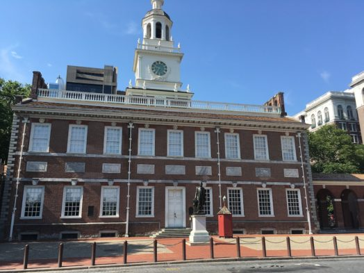 Hall of Independence & Liberty Bell - Philadelphie