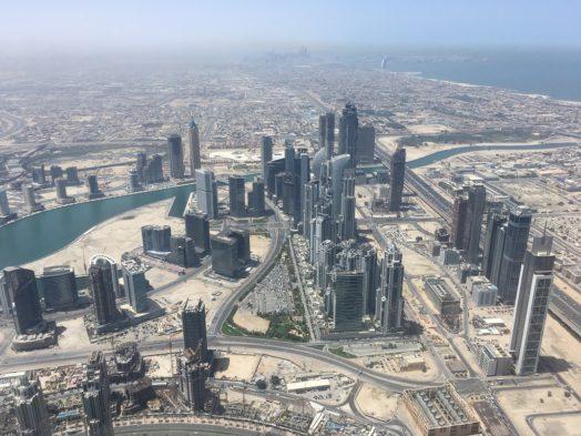 Visite du 148e étage du Burj Khalifa à Dubai