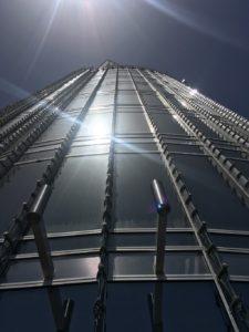 Building du Burj Khalifa - VIsite à Dubai