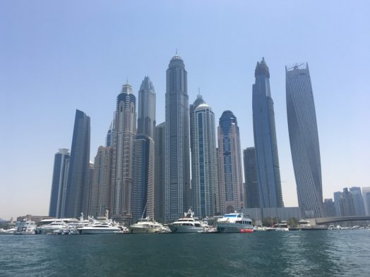 Buildings de Dubai Marina