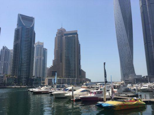 Dubai Marina - Bateaux de plaisance