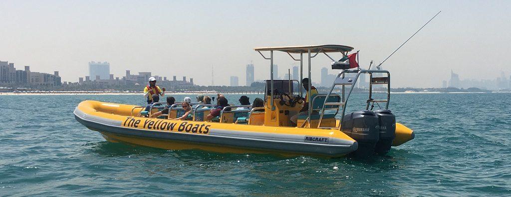 Zodiacs Yellow Boat à Dubai