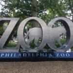 L'entrée du Zoo de Philadelphie, le premier zoo des USA