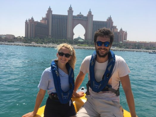 Croisière en zodiac à Dubai - Vue sur Atlantis