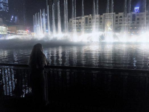 Voir le spectacle des Fontaines à DUbai