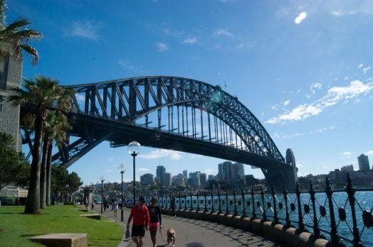 Escalader le pont de Sydney - Marche au sommet