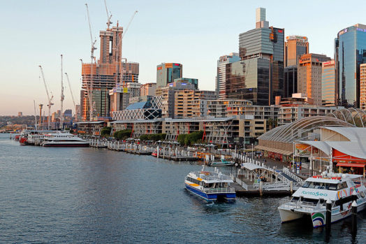 Visite Darling Harbour à Sydney