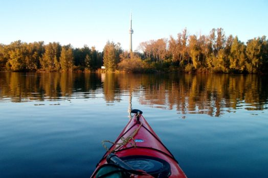 Visite Toronto Islands en kayak