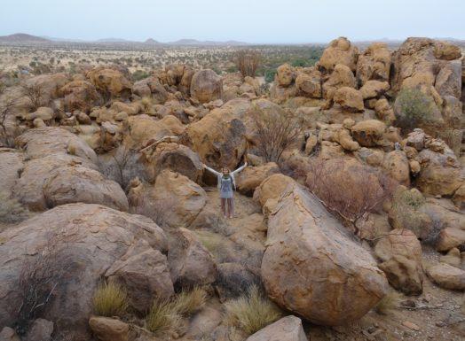 Visite du Damaraland - Safari en Namibie
