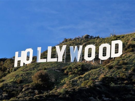 Voir le signe Hollywood à Los ANgeles