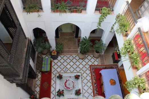 Dormir dans un riad à Marrakech