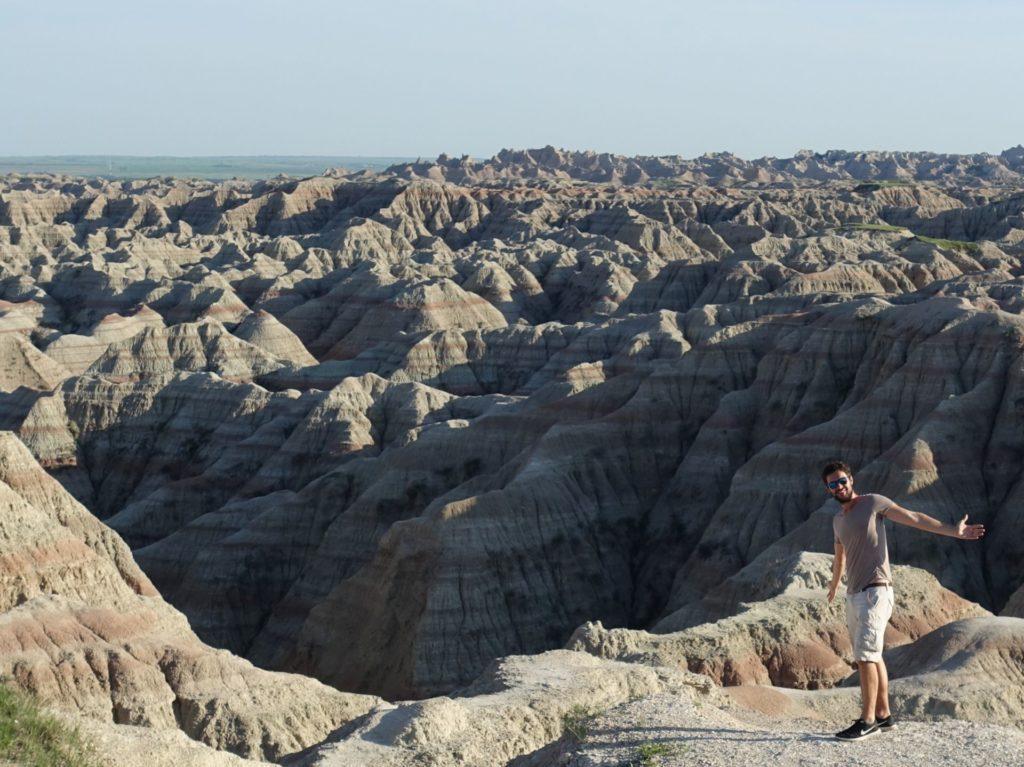 Que faire Dakota du Sud - Visite des Badlands