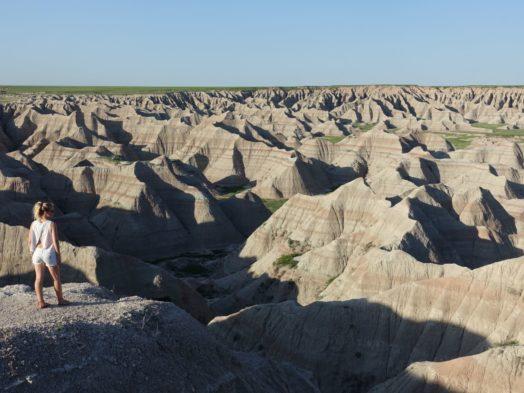 Visiter Dakota du Sud - Badlands