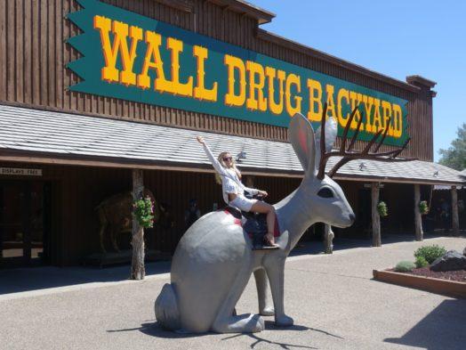 Voyage Dakota du Sud - Visite de Wall
