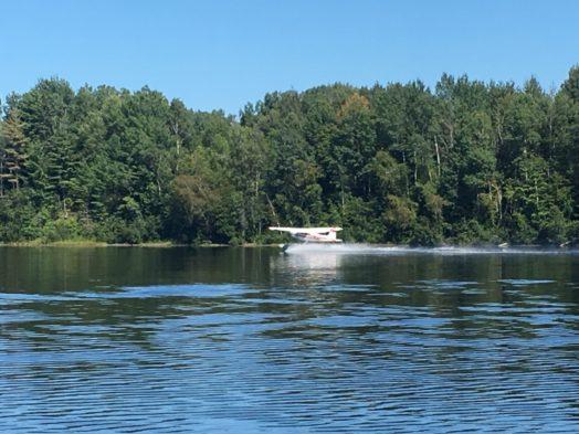 Vol en hydravion au Québec