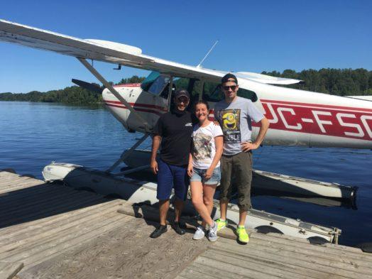 Vol en hydravion au Québec - Parc de la Mauricie