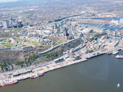 Survol de Québec en hélicoptère