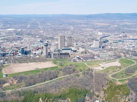 Survoler Québec en hélicoptère