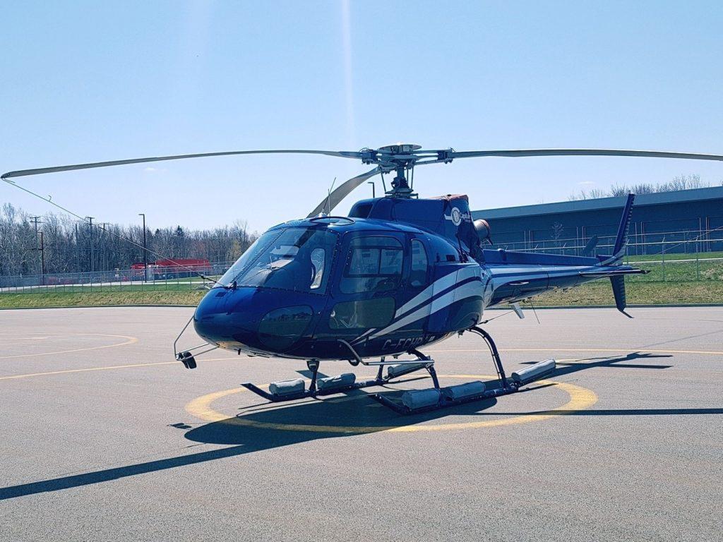 Survoler Québec en hélicoptère - Activité insolite