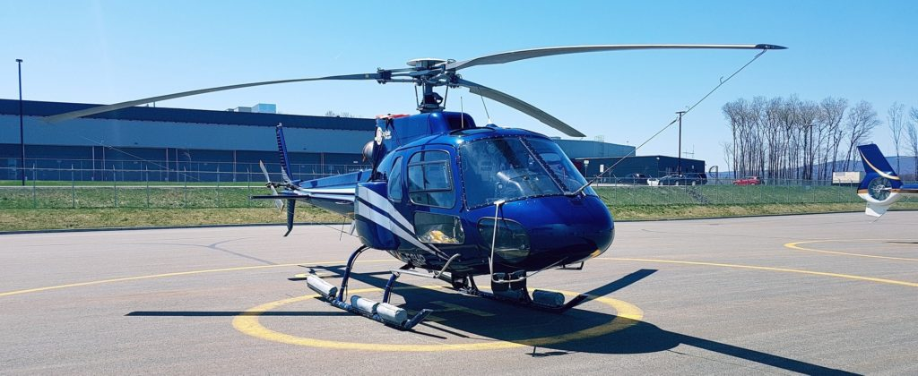 Vol en hélicoptère au Québec