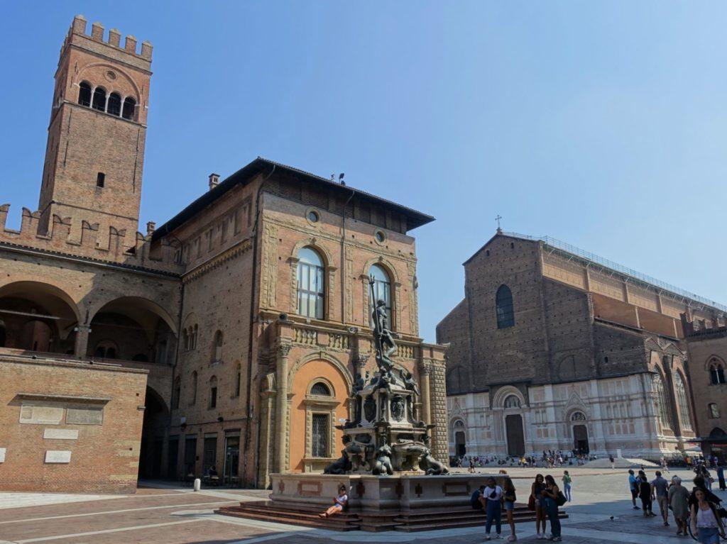Que faire à Bologne - Visite Piazza Maggiore