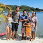 Raiatea - Une adorable famille polynésienne